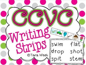 CCVC Writing Strips