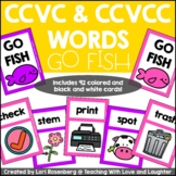 CCVC and CCVCC Words Go Fish