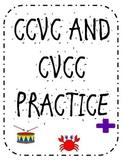 CCVC and CVCC PRACTICE