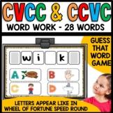 CCVC and CVCC words