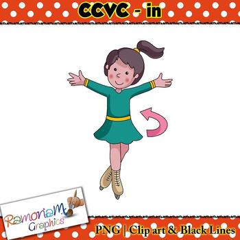 CCVC short vowel in clip art