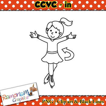 CCVC short vowel in clip art