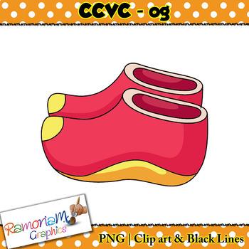 CCVC short vowel og clip art