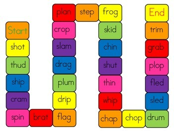 CCVC word game
