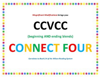 CCVCC Connect Four Game