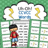 CCVCC Reading Fluency Game Uh-Oh!