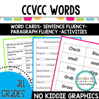 CVC Word Reading Blends