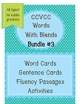 CCVCC Words Bundle Aligned with 2.3-2.5