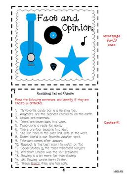 CD Case Centers Fact and Opinion