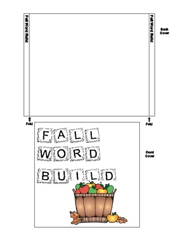 CD Case Fall Words Word Build