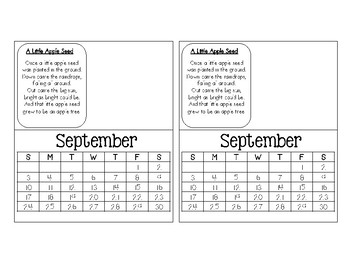CD Fingerprint Calendars