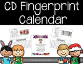 CD Fingerprint Calendars 2018-2019