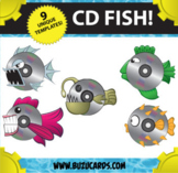CD Fish! Art projects for Fine Motor Skills and Creativity!