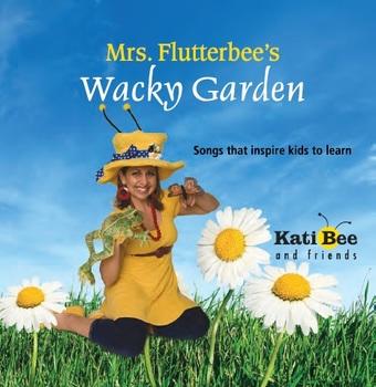"CD - ""Mrs. Flutterbee and the Wacky Garden""  (Full Length"