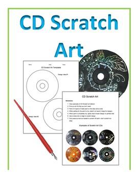CD Scratch Art Activity