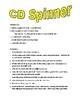 CD Spinner Directions
