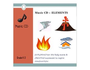 CD of Music - ELEMENTS - PreK-3