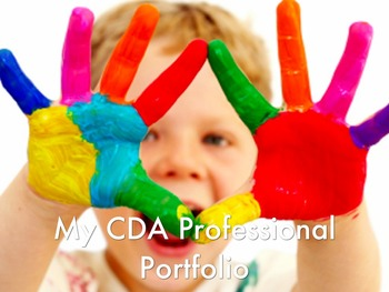 CDA (Child Development Associates) Professional Portfolio Workbook