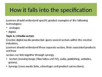 CDMP: Sectors