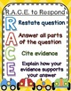 RACE RUBRIC & POSTER: For Writing and Grading Open Response- Common Core Aligned