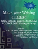 CEER Writing Strategy for Expository Text