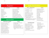 CELDT Descriptor Cards