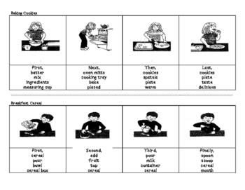 CELDT Prep Game: 4-Picture Narrative
