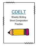 CELDT Weekly Composition Writing