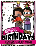 CELEBRATE BIRTHDAYS {Centers and More! Pre-K and Kindergarten}
