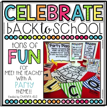 CELEBRATE Back to School- {Editable} Stations