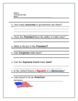 CELEBRATE CONSTITUTION DAY! SEPTEMBER 17TH!  GRADES 3-7