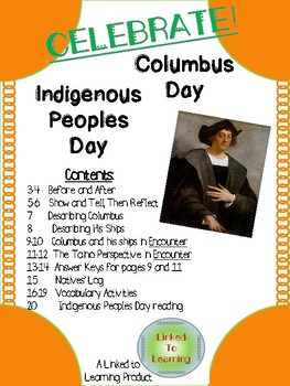 CELEBRATE: Columbus Day and Indigenous Peoples Day