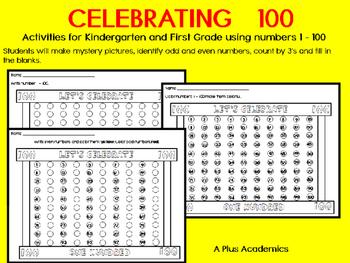 Kindergarten/ First Celebrating 100 Days