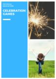 P.E. CELEBRATION GAMES UNITS, ASSESSMENT, POSTERS & STUDENT CHALLENGES (K-2)
