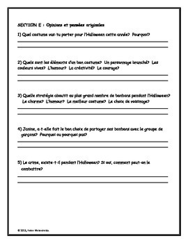 CÉLÉBRONS L'HALLOWEEN - A F... by French Teacher Canada | Teachers ...