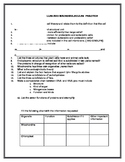CELL THEORY AND MACROMOLECULES QUESTIONNAIRE