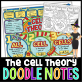 Cell Theory Doodle Notes | Science Doodle Notes