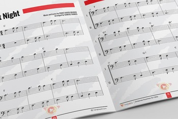 CELLO SHEET MUSIC: Christmas Favorites for Cello with PERFORMANCE TRACKS