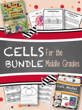 CELLS BUNDLE - For the Middle Grades (2 GREAT RESOURCES)