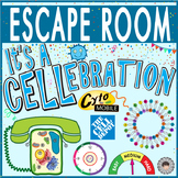 CELLS Escape Room ~It's a CELLebration Breakout~ Digital Locks ~BIOLOGY