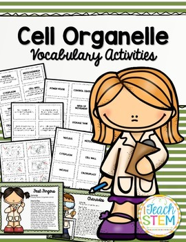 CELLS Organelle Vocabulary Review Activities