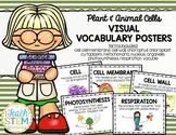 STEM Visual Vocabulary Posters - Plant and Animal Cells