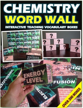 CHEMISTRY: WORD WALL
