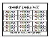 CENTERS' LABELS PACK