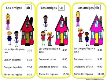 CENTRO LA HORA PRÁCTICA GLOBAL (LECTORA, ORAL, ESCRITA Y AUDITIVA) TIME SPANISH