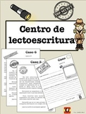 CENTRO LECTURA  ESCRITURA DETECTIVE SPANISH READING AND WR