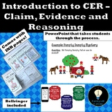CER - Claim Evidence Reasoning Introduction Humpty Dumpty Mystery