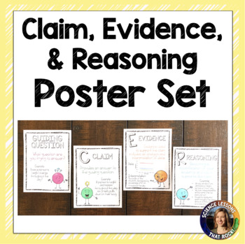 CER- Claim Evidence Reasoning Posters