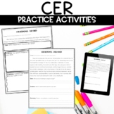 CER   Claim Evidence Reasoning Practice