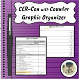 CER-Con with Counterclaim Argumentative Writing Graphic Organizer Google Doc